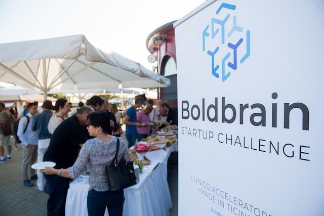 Lugano: Boldbrain Startup Challenge incontro al Lido di Lugano.
